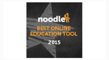 2015 Noodle Best Online Education Tool