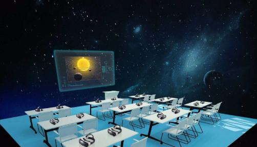 101VR沉浸教室解决方案
